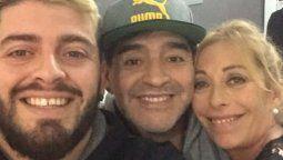 Cristina Sinagra se despidió de Diego Maradona: Para mí jamás te irás