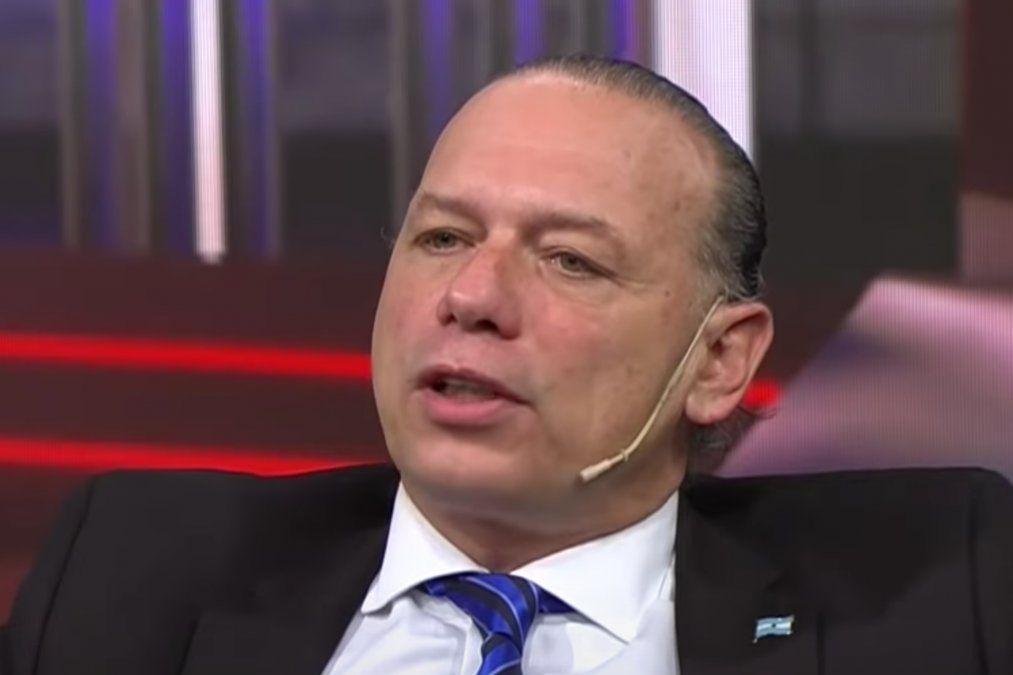 El Ministro de Seguridad Bonaerense