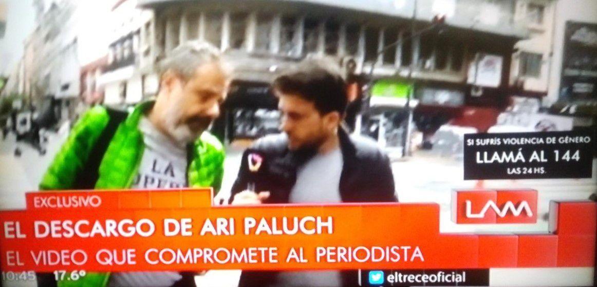Reapareció Ari Paluch, luego de un nuevo video que lo incrimina con la microfonista: Hay injusticias