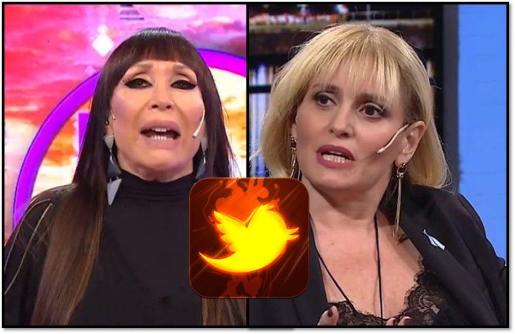 Moria Casán no habló en Incorrectas de su enfrentamiento con Romina Manguel, pero continuó descargándose en Twitter