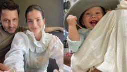 Benjamín Vicuña y la China Suárez celebraron el primer cumpleaños de Amancio