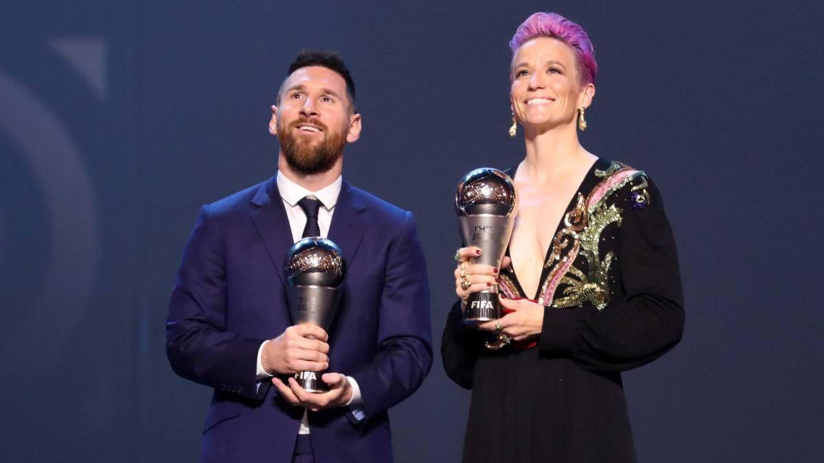 ¡Muy directa! Lionel Messi es criticado por Megan Rapinoe