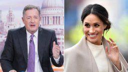 Piers Morgan llama a Meghan Markle trepadora social