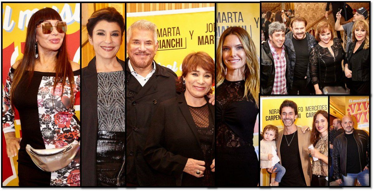 Moria Casán, todas las Incorrectas y muchos famosos presentes en el estreno de Viva la vida