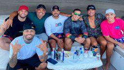 ¡Poder boricua! Nicky Jam, Daddy Yankee y Luis Fonsi, juntos en un yate