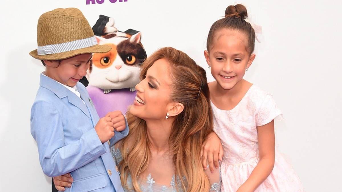 ¡Feliz! Jennifer Lopez celebró la vida de sus hijos