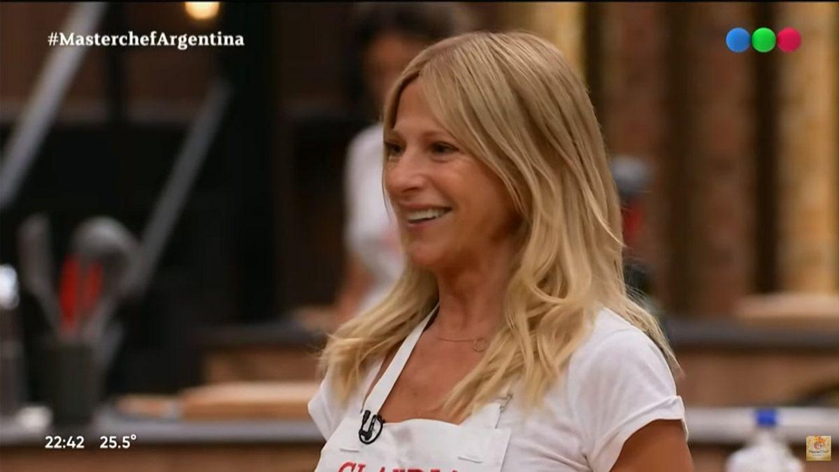 Masterchef Celebrity: Claudia Fontán se desesperó y salió a los gritos