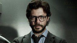 El Profesor es uno de los personajes emblemáticos de la serie de Netflix La Casa de Papel