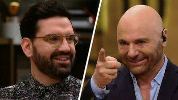 Germán Martitegui y Damián Betular se pelearon en Masterchef Celebrity
