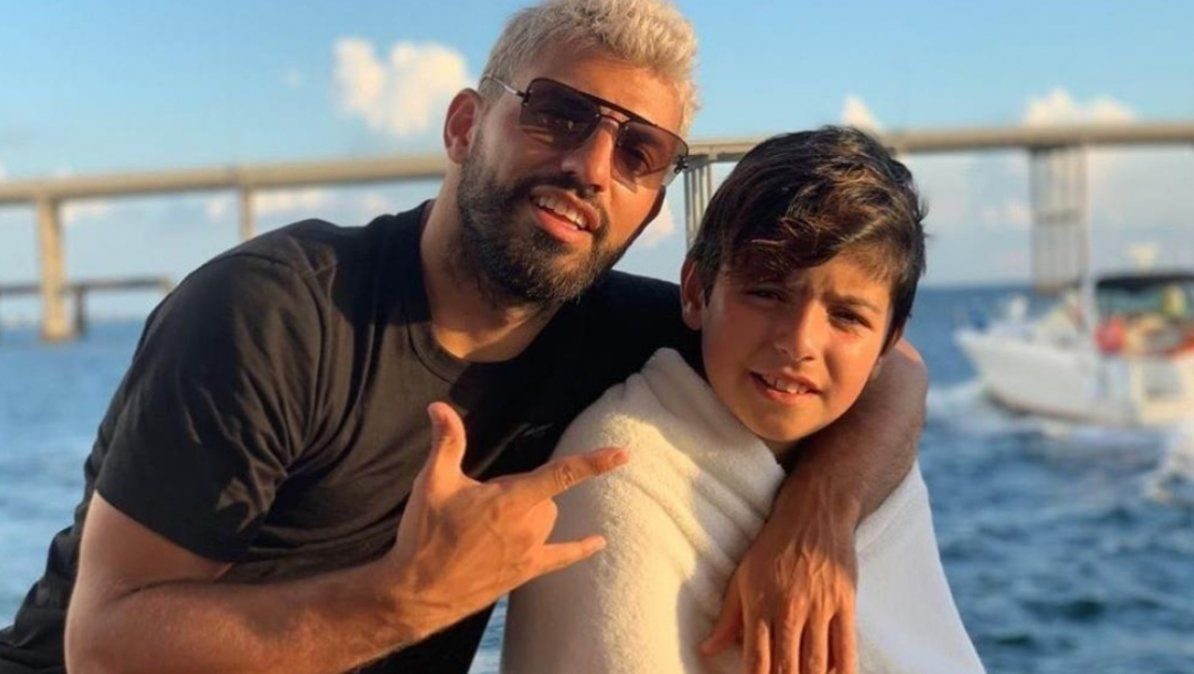 Benjamín Agüero se contagió de COVID-19 al igual que el Kun y su novia ¿Qué dirá Gianinna Maradona?