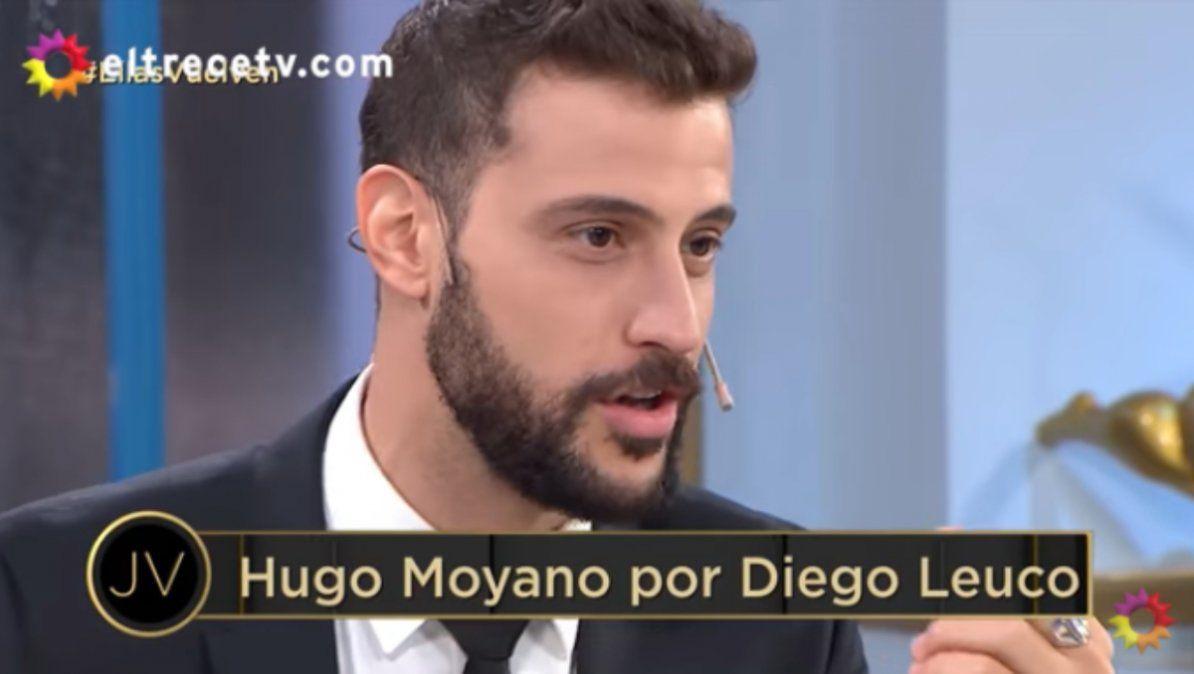 Diego Leuco mostró su talento oculto imitando a Moyano