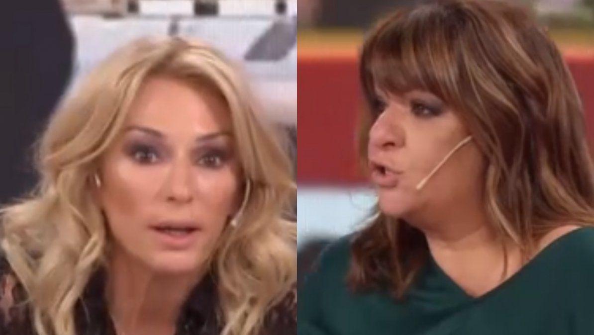 Yanina Latorre le paró el carro a Andrea Taboada en vivo: Si vas a querer lastimarme, vas mal