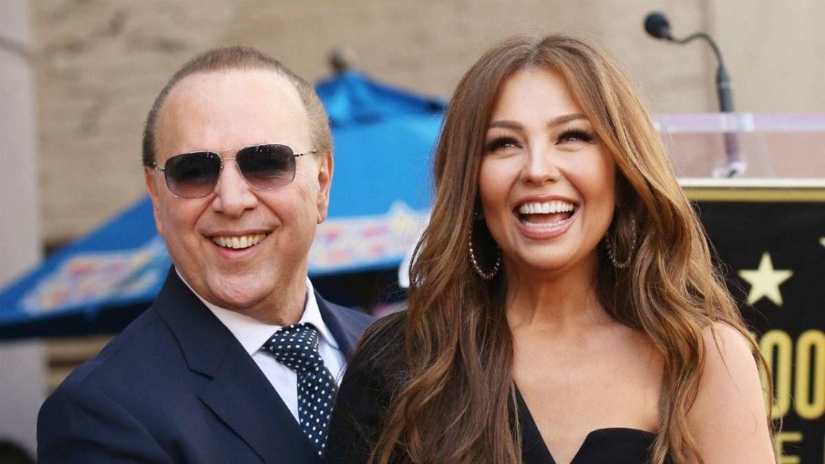 ¡De celebración! Thalía y Tommy Mottola cumplieron 20 años de casados
