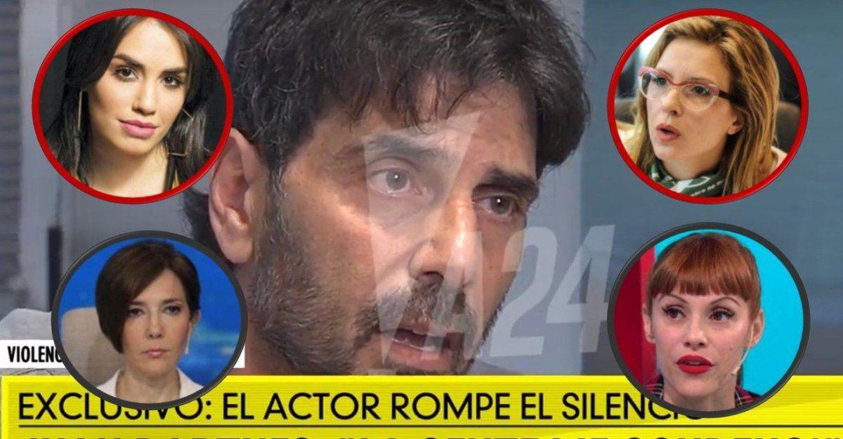 Después de la entrevista de Juan Darthés, las actrices hacen un fuerte repudio en Twitter