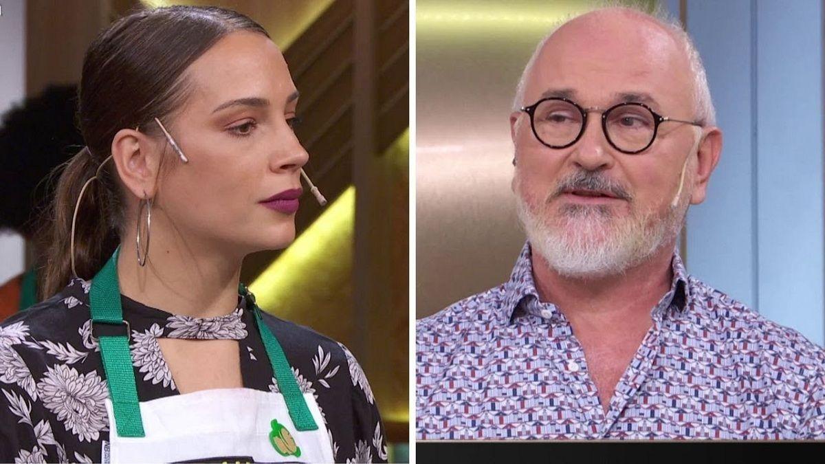Osvaldo Gross no tuvo piedad con una participante de El gran premio de la cocina