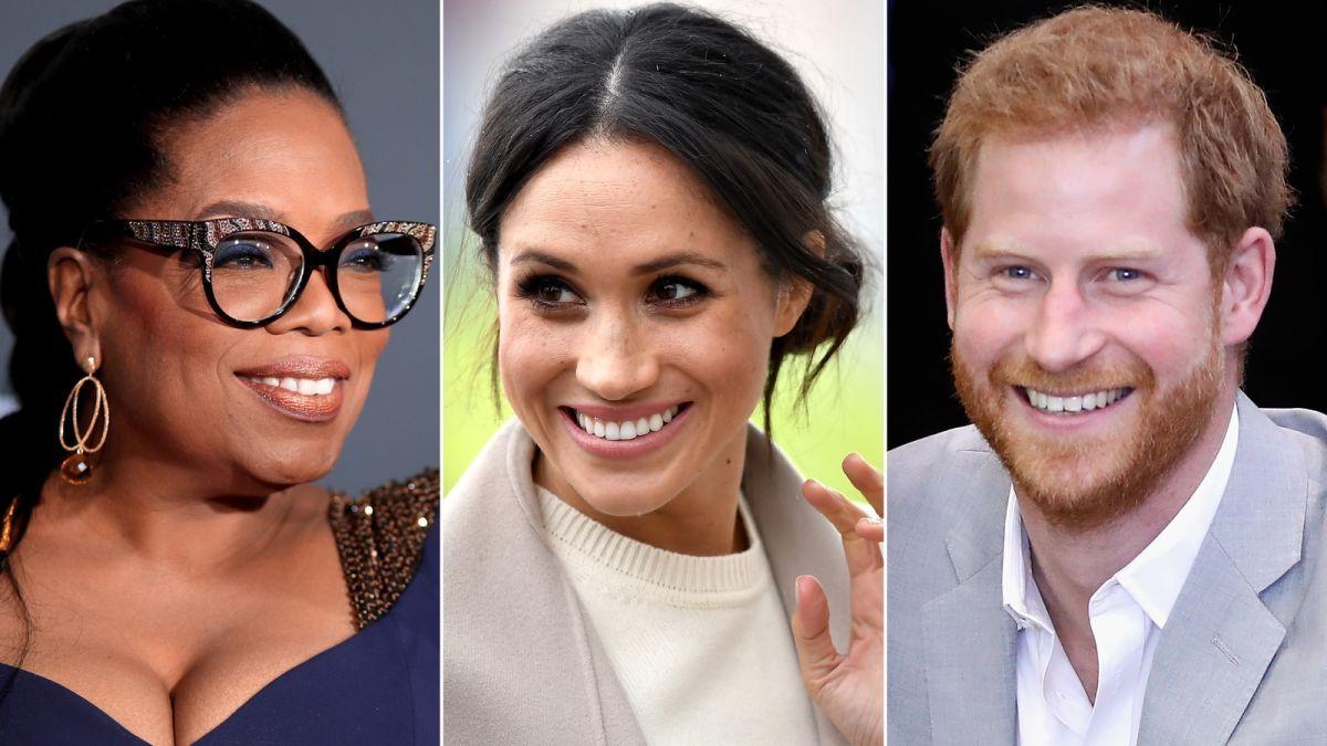 ¡Contó todo! Oprah Winfrey habló de Meghan Markle y el príncipe Harry