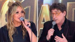 Oscar Mediavilla y Karina La Princesita se pelearon en el Cantando