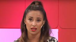 Lourdes Sánchez, enojada