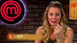 Rocío Marengo no la pasó bien en MasterChef Celebrity
