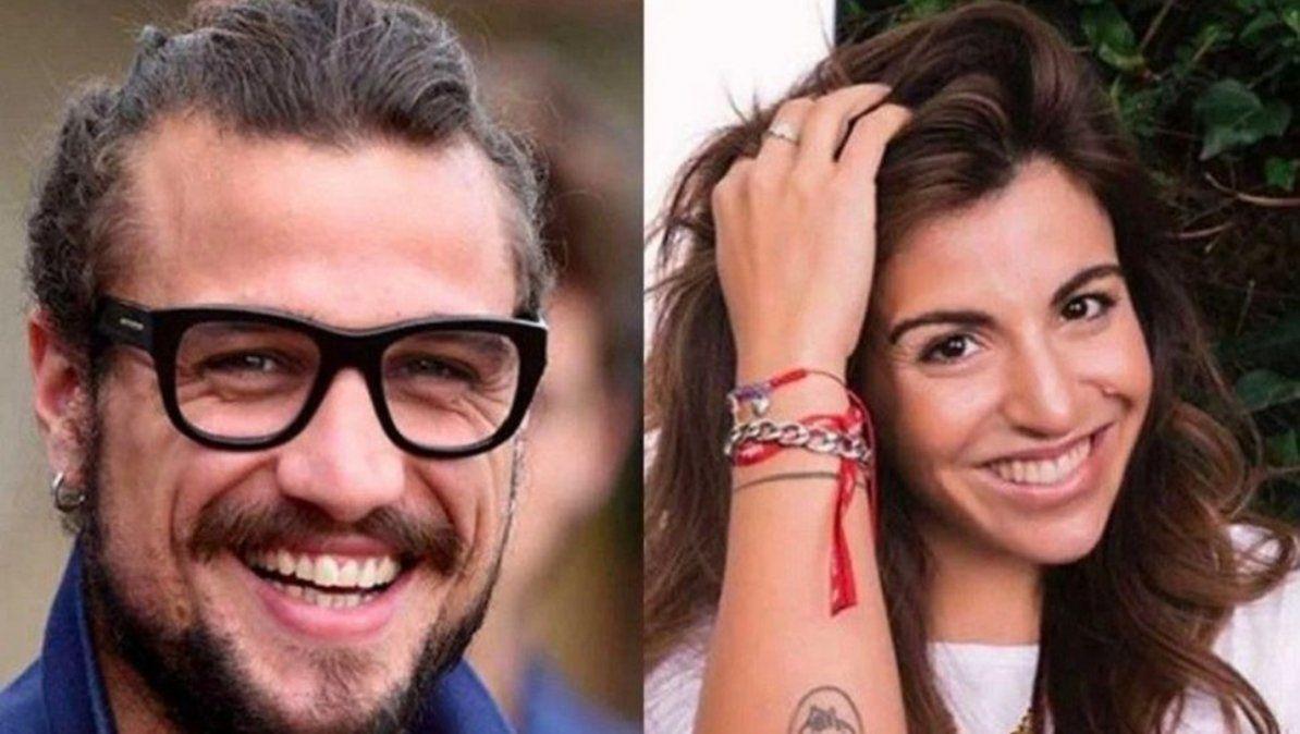 Gianinna Maradona publicó una romántica foto junto a Daniel Osvaldo