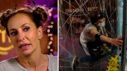 El divertido blooper de Analía Franchín en Masterchef Celebrity