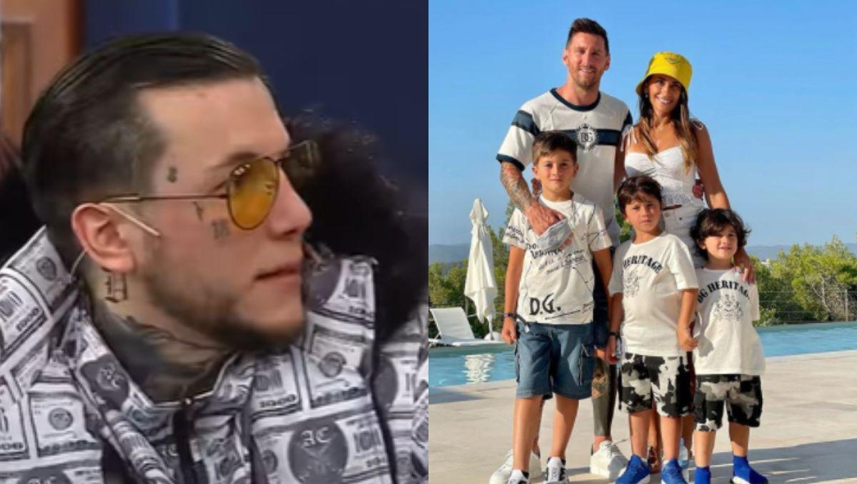 El increíble consejo de Alex Caniggia a lo hijos de Messi