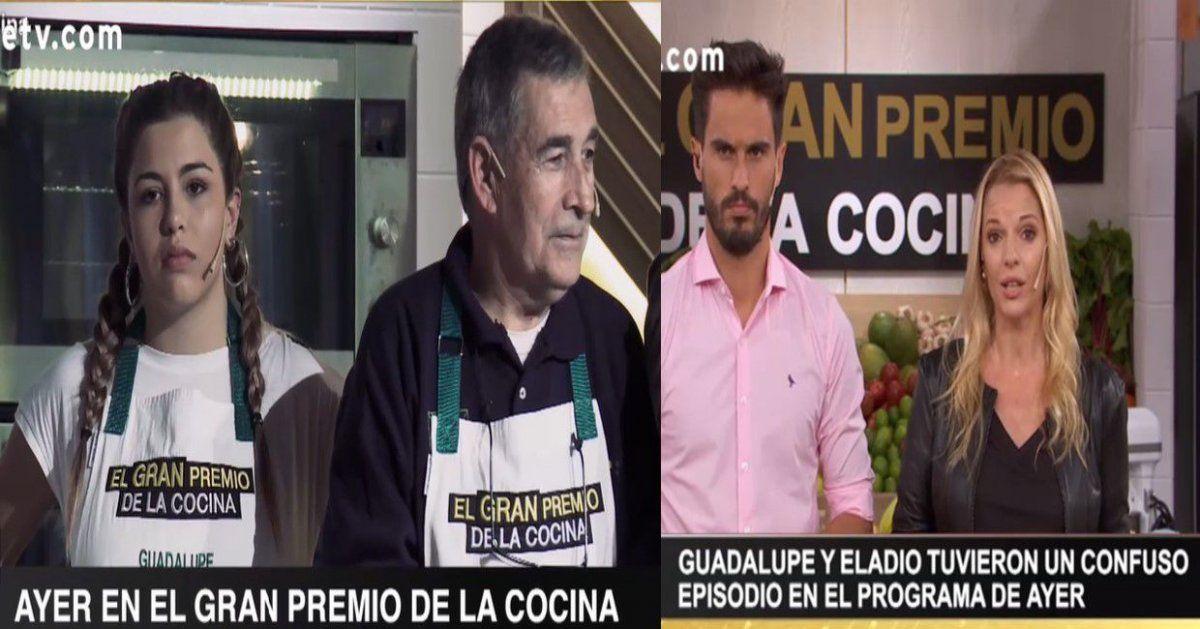 Sacaron a un participante de El Gran Premio de la Cocina por comentarios inapropiados hacia su compañera