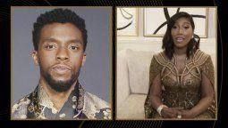 ¡Emotivo! Chadwick Boseman fue premiado con un Globo de Oro