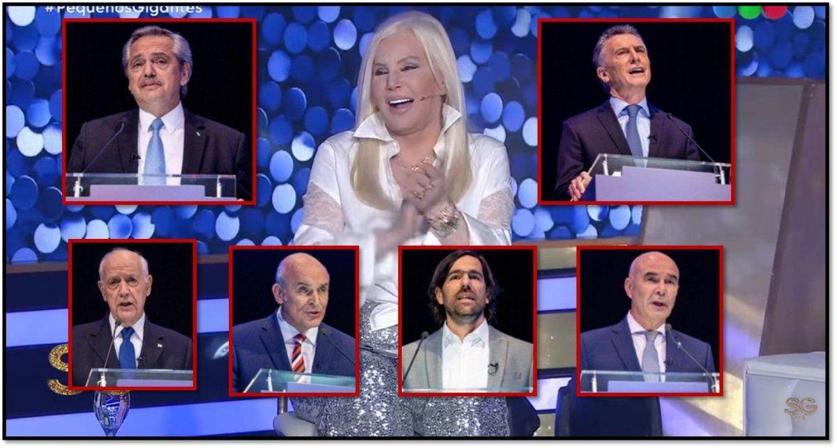 Telefe no cambió y ganó: Susana Giménez superó al debate presidencial