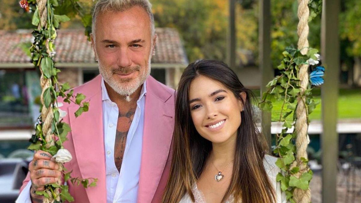 La emotiva sorpresa de Gianluca Vacchi a Sharon Fonseca y a su hija