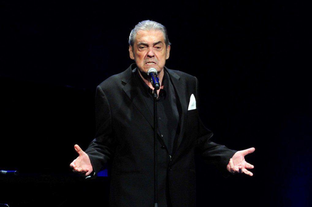 Murió Alberto Cortez, el exitoso cantautor español