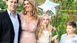 Mía Martin es la primera hija del matrimonio entre Matías Martin y Natalia Graciano