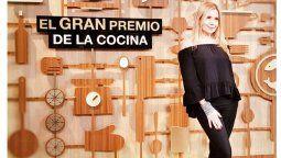 Andrea Politti asumió la conducción de El Gran Premio de la Cocina