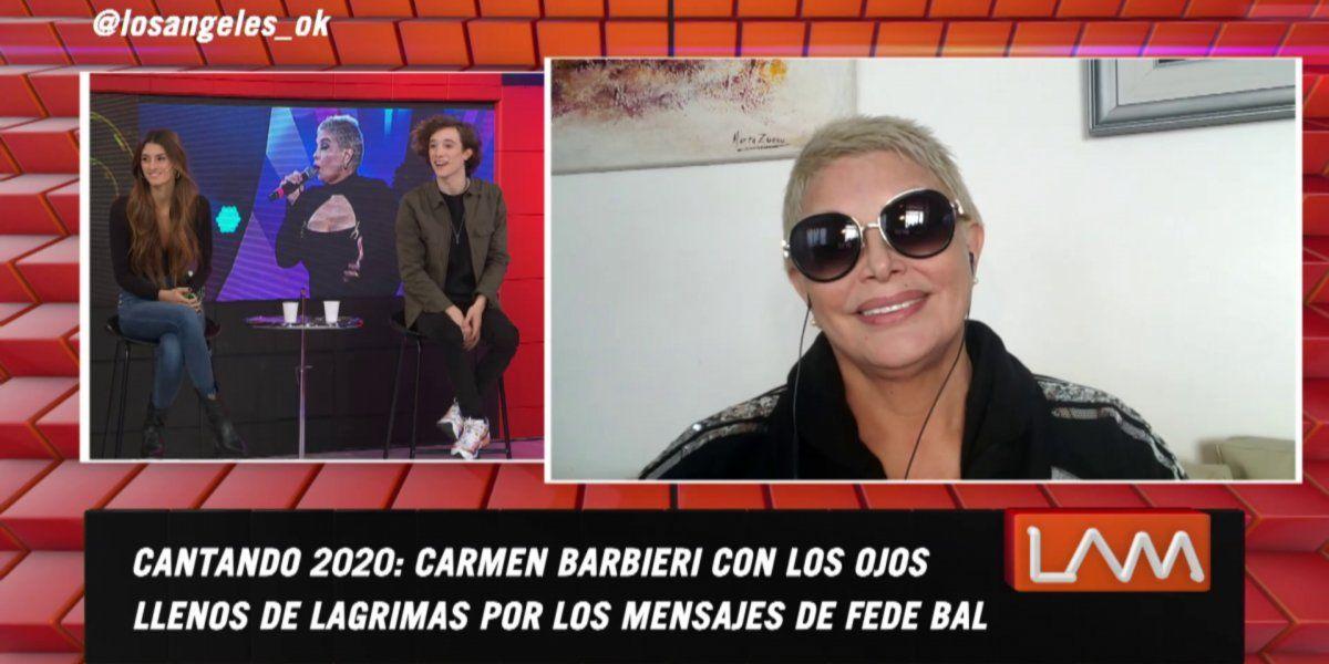 El reclamo de Carmen Barbieri a Lucas Spadafora: Pasaste por el lado mío y no me conociste