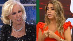 La periodista Marina Calabró confirmó que fue bloqueada en WhatsApp por Mirtha Legrand