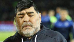 Le dieron el alta a Maradona
