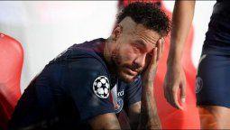 Las lágrimas de Neymar tras la derrota del PSG en la final de la Champions