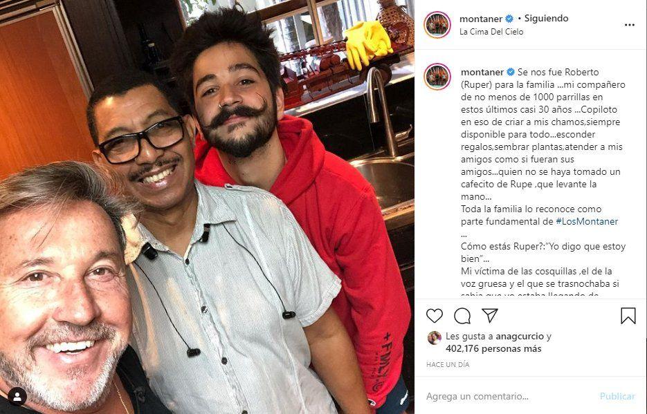 Ricardo Montaner dedicó un sentido posteo a Ruper