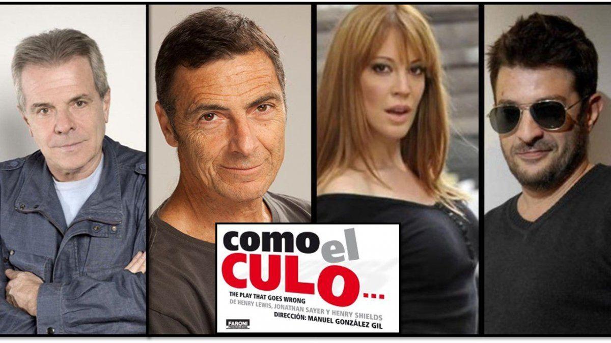 Se arma Como el culo para Carlos Paz: Rago, Laplace, Garzón y Miriam Lanzoni