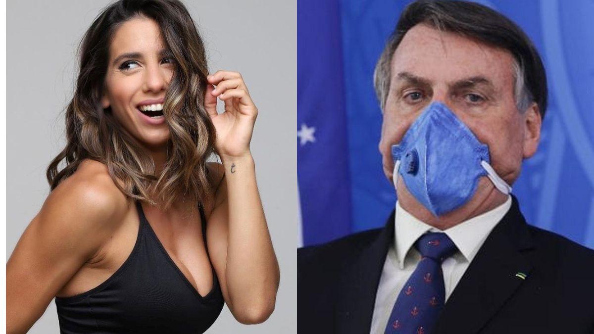 Cinthia Fernández festejó el contagio de Covid de Bolsonaro