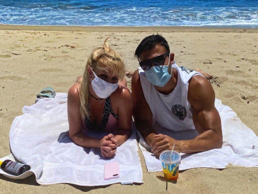 Britney Spears en Hawái para festejar su cumpleaños
