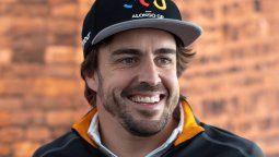 El piloto Fernando Alonso fue operado tras sufrir un accidente la semana pasada
