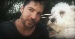 ¡Tristeza total! David Bisbal perdió a su perro Maxi