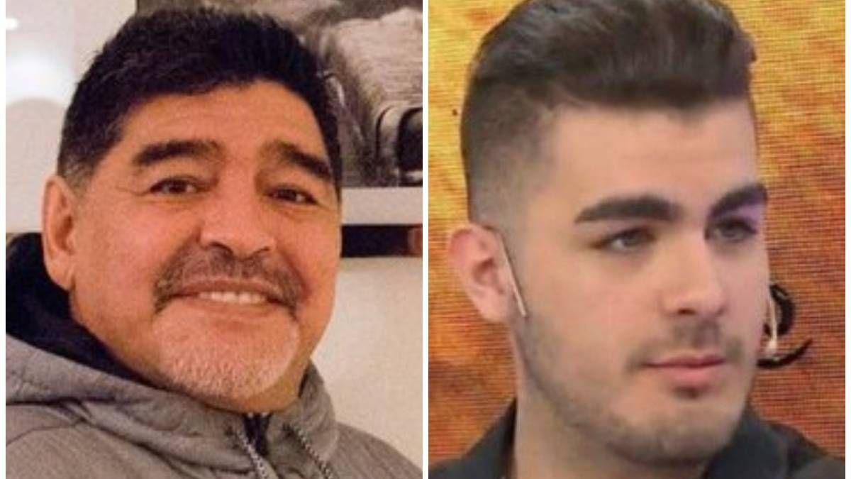 ¿Santiago Lara es hijo de Diego Maradona?