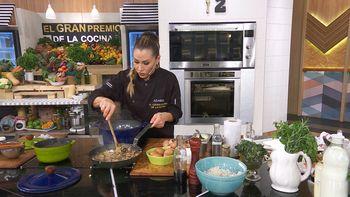 Adabel Guerrero está harta en El Gran Premio de la Cocina