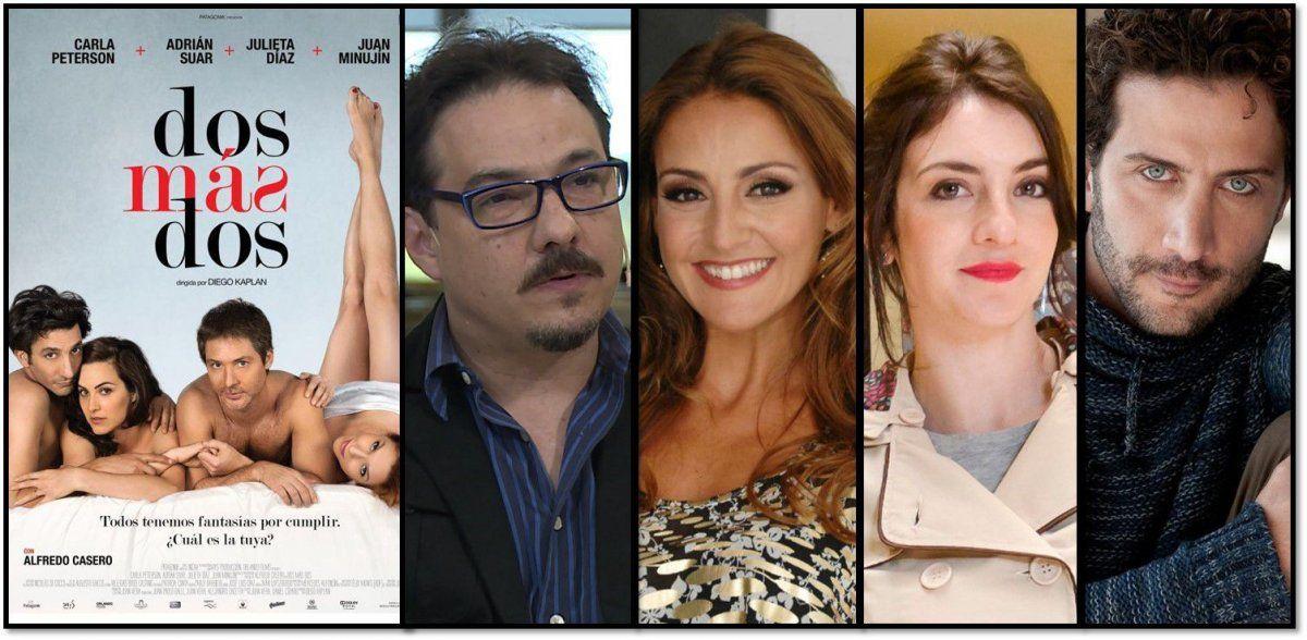 El elenco que quiere Suar para la versión teatral de su peli Dos más dos; su proyecto para 2018