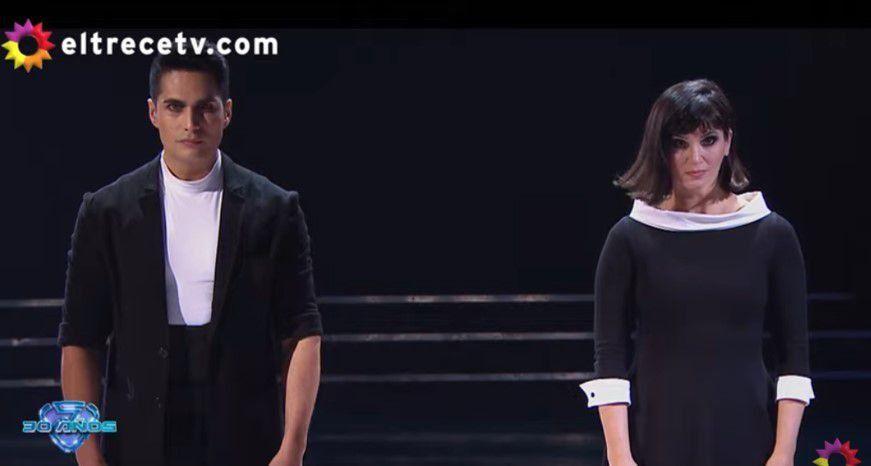 Griselda Siciliani y Nicolás Villalba deslumbraron con su rock nacional
