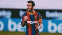 El primer gol oficial de Lionel Messi tras el conflicto con Barcelona