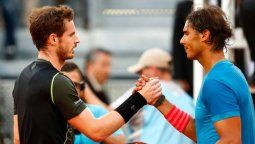 Andy Murray sobre Rafa Nadal: No creo que nadie se acerque a él