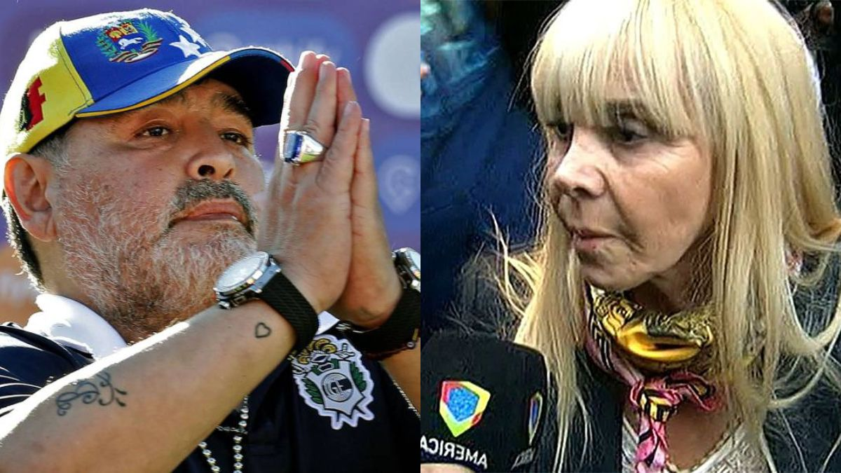 ¡Se cansó!: Claudia Villafañe le respondió a Diego Maradona a través de su abogada